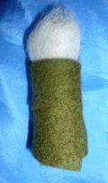 a half made wool shepard
