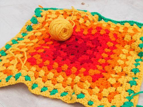 Crochet, charlie's blanket, 2012 001